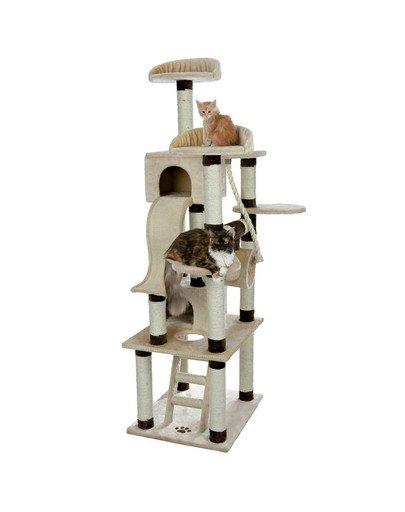 """Drapak dla kota """"Adiva"""" 209 cm  beżowo / brązowy"""