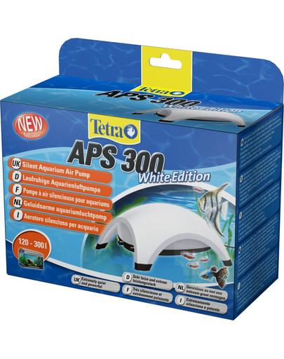 Pompa APS Aquarium Air Pumps biała APS 300