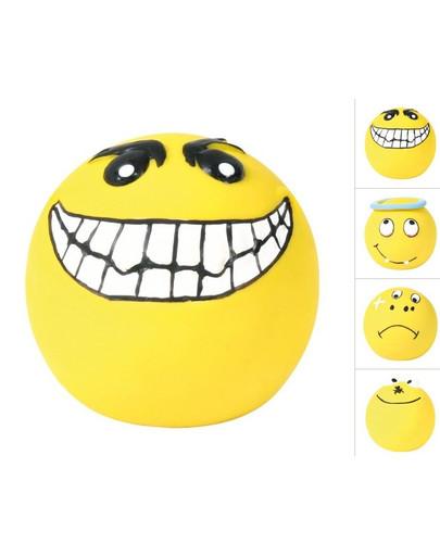 Piłki uśmiechy piszczące 4szt/op