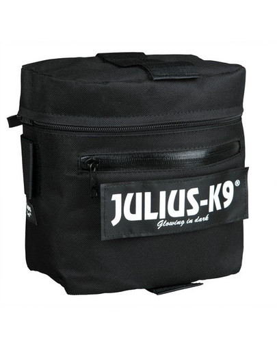 Podwójna torba siodłowa 2 Julius-K9 , czarna