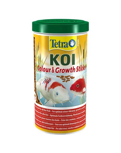 Pokarm Pond KOI Colour&Growth Sticks 1 L