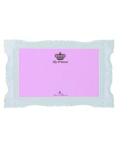 "Mata ""My Princess"" 44x28 cm różowa"