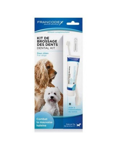 Zestaw szczoteczka i pasta do czyszczenia zębów