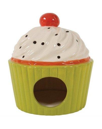 Domek Ceramiczny Ciastko Seledynowy