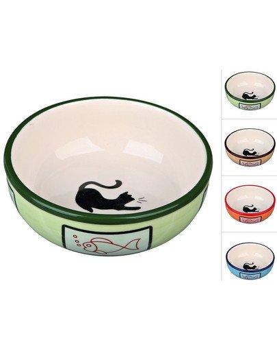 Miska Ceramiczna Dla Kota. 0.35 l/O 12.5 cm