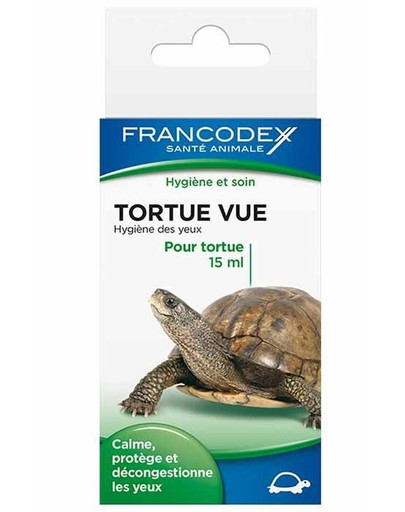Płyn Do Czyszczenia Oczu Żółwi 15 ml