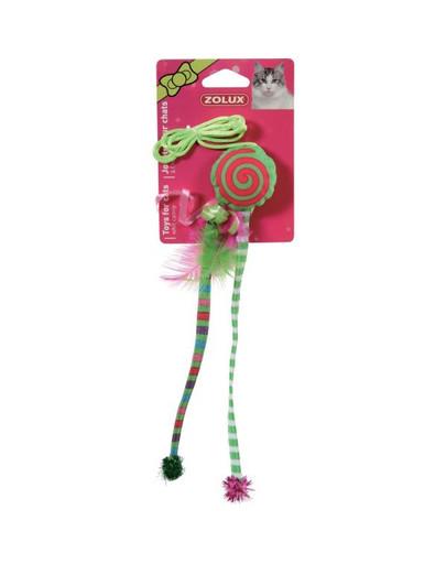 """Zabawka Candy Toys """"Ośmiorniczka"""" z Kocimiętką i Grzechotką zielona"""