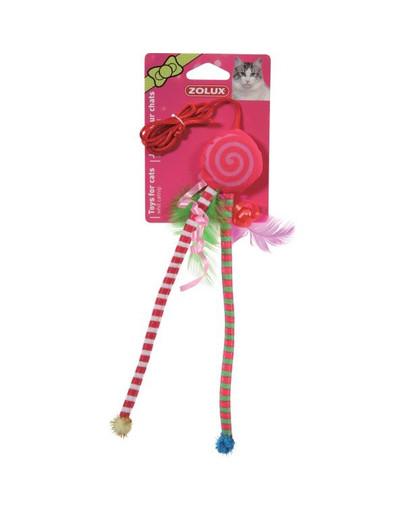 """Zabawka Candy Toys """"Ośmiorniczka"""" z Kocimiętką i Grzechotką czerwona"""