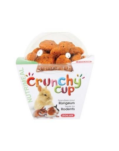 Crunchy Cup Candy Przysmaki Marchewka/Siemię Lniane 200 g
