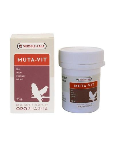 Muta-Vit - Preparat Na Pierzenie Dla Ptaków 25g