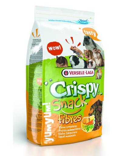 Crispy Snack Fibres 650 g  Mieszanka Uzupełniająca z Wysoką Zawartością Włókna