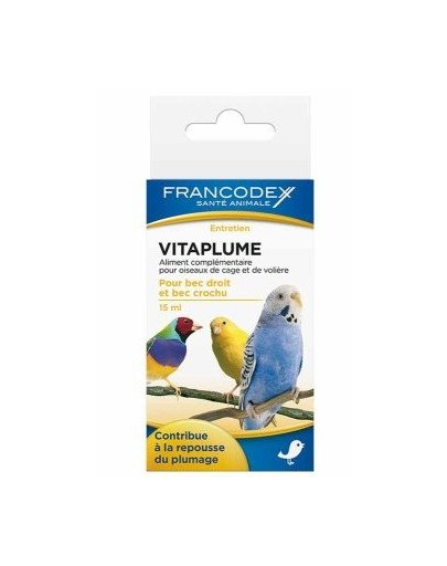 Witaminy Na Zdrowe Upierzenie Ptaków 15 ml