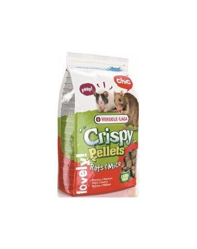 Crispy Rats&Mice Omnivores Big Pellet 20kg Granulat Dla Szczurów I Myszy