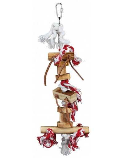 Drewniana Zabawka Z Rzemykami 35 cm