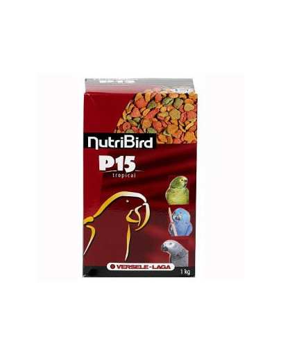 Nutribird P15 Tropical Maintenance 1 kg - Granulat Dla Dużych Papug