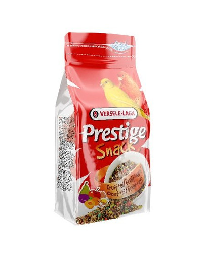 Prestige Snack Canaries 125 g - Przysmak Z Biszkoptami I Owocami Dla Kanarków