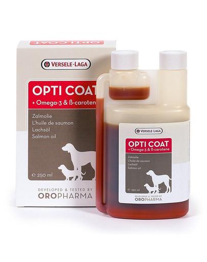 Opti Coat Olej Z Łososia, Omega-3 & B-Karoten 1 l