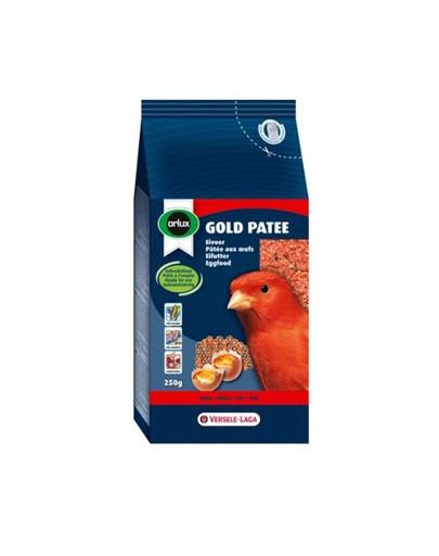 Gold Patee Canaries Red 250 g Pokarm Jajeczny Dla Czerwonych Kanarków