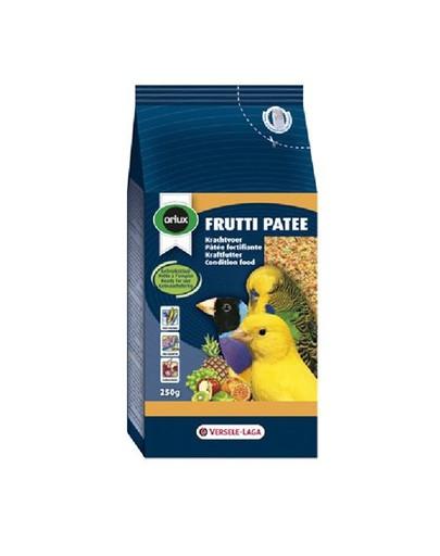 Frutti Patee 250 g Pokarm Owocowy Na Kondycję Dla Małych Ptaków