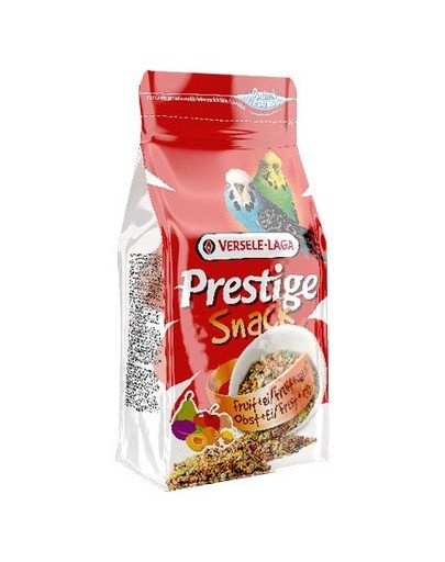 Prestige Snack Budgies 125 g - Przysmak Przysmak Z Biszkoptami I Owocami Dla Papużek Falistych