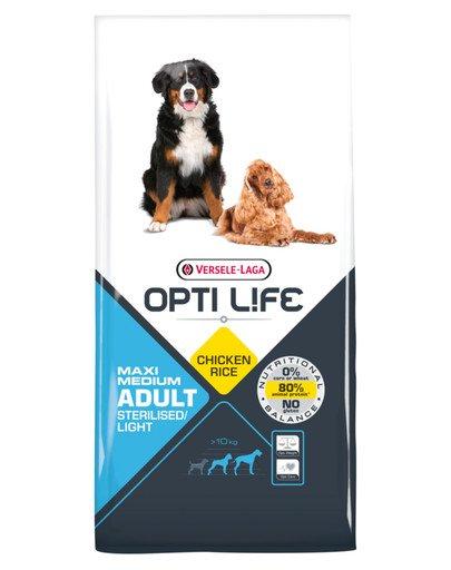 Adult Light Medium & Maxi Dla Otyłych Psów Ras Średnich I Dużych 12,5 kg