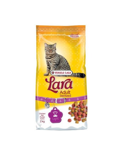 Lara Adult Sterilized - Karma Dla Kotów Sterylizowanych 2 kg