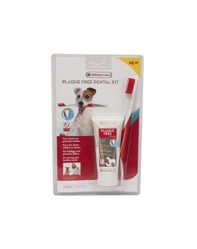 Plaque Free Dental Care Kit - Zestaw Pasta Do Zębów I Szczoteczka