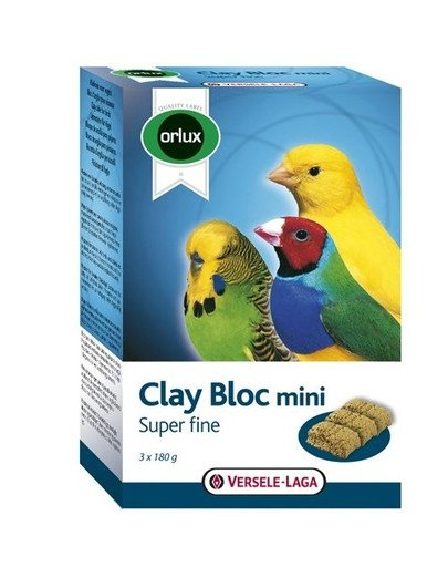 Clay Bloc Mini 540 g  Kostka Gliniana dla ptaków