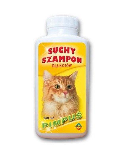 Szampon suchy dla kotów pimpuś 250 ml