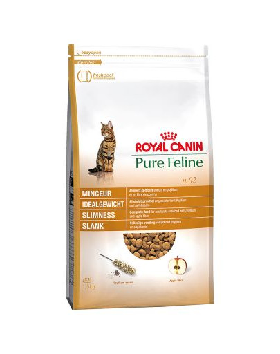 Pure feline n.02 (smukła sylwetka) 1.5 kg