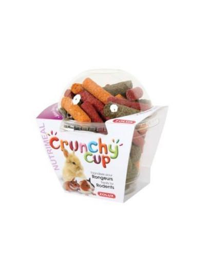 Crunchy Cup Sticks Przysmaki Dla Gryzonia Lucerna/Marchewka/Buraczek 180 g