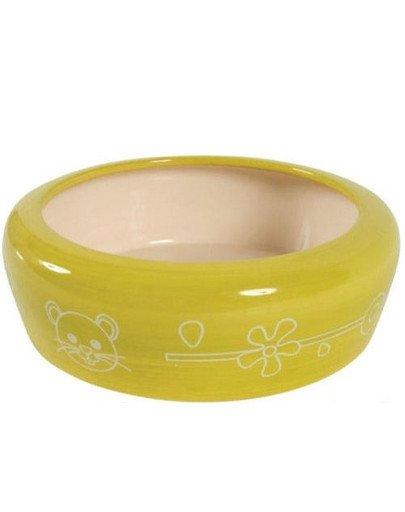 Miska Ceramiczna Dla Gryzonia 700 ml Kol. Seledynowy