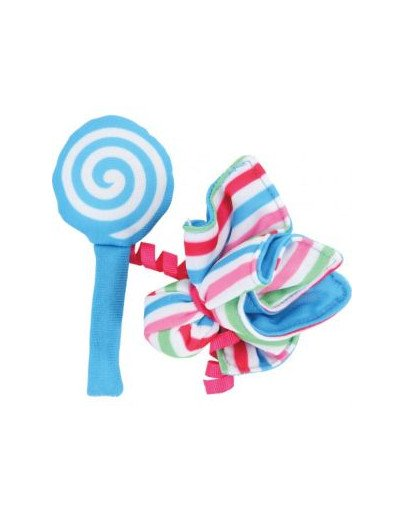 """Zabawka Dla Kota Candy Toys """"Kwiatek i Cukierek"""" z Kocimiętką Kol. Niebieski"""