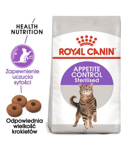 Sterilised appetite control 2 kg