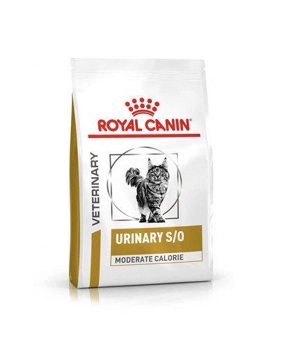 Vet cat urinary moderate calorie 7 kg
