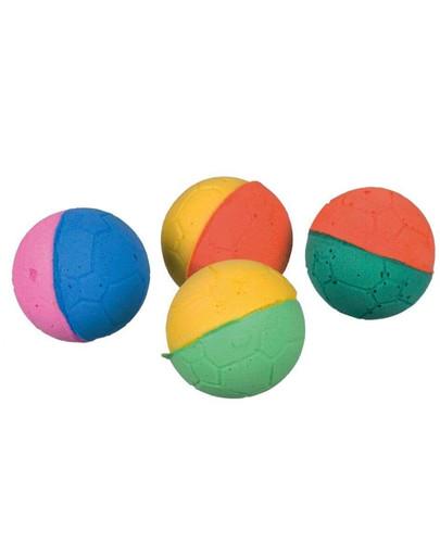 Piłki Miękkie Kolorowe, 4.3cm, 4Szt
