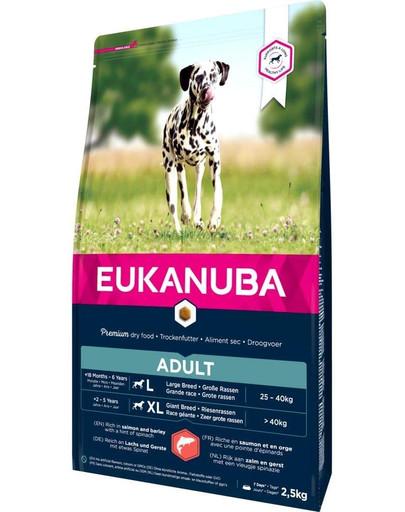 EUKANUBA Dry Base Adult Large Breeds Salmon & Barley 2.5 kg