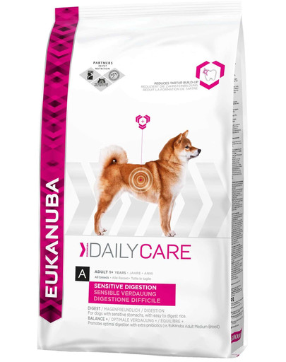 Daily Care Adult Sensitive Digestion All Breeds Chicken 2.5 kg