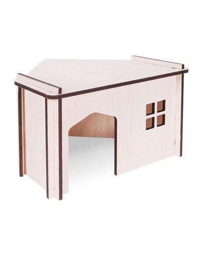 Domek Drewniany Składany Narożny 1