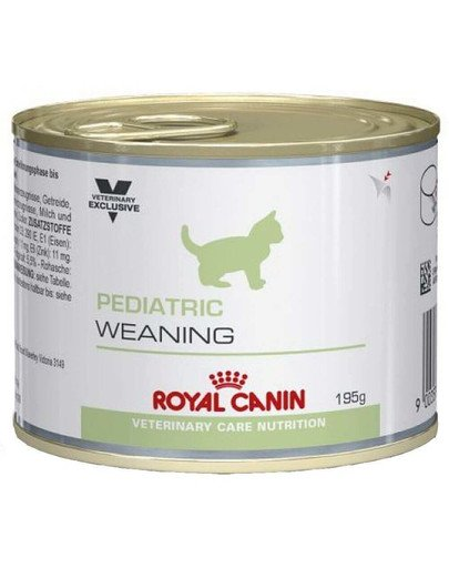 Cat pediatric weaning puszka 195 g