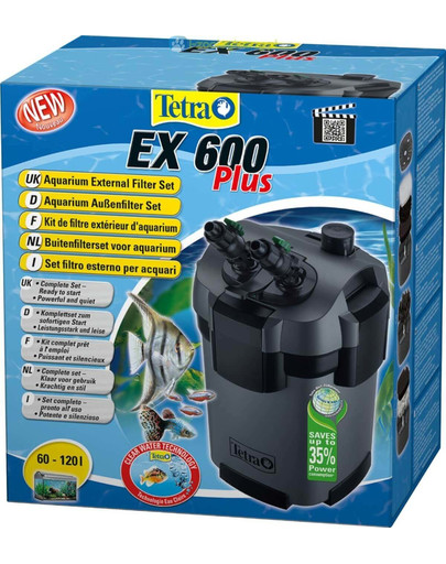 External Filter Ex 600 Plus-Filtr Zewnętrzny 60-120l