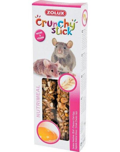 Crunchy Stick Szczur/Mysz Owies/Jajko 115 g