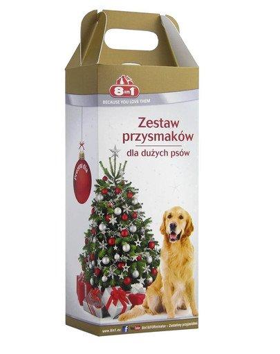 Zestaw świąteczny dla psów średnich i dużych