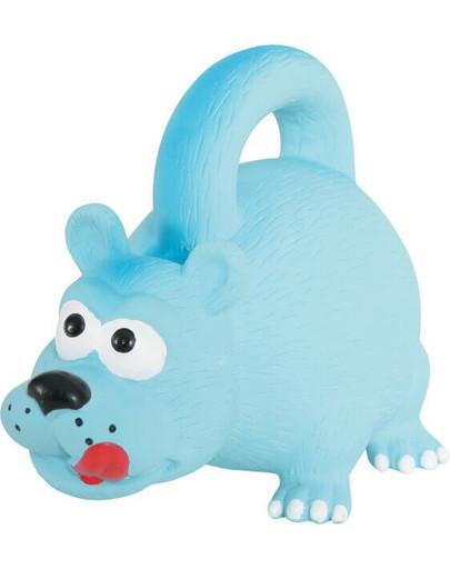 Zabawka Lateksowa Z Uchwytem 15 cm Niebieska
