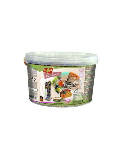 Pokarm dla ptaków wolnożyjących 3l 2.4 kg drobne nasiona