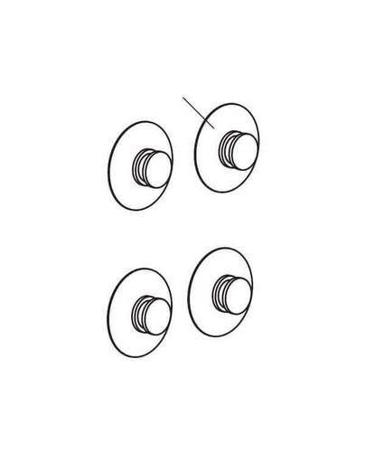 Przyssawka d=24 mm . 4szt.