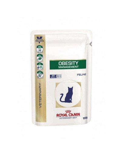 Cat obesity management 12 x 100 g