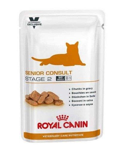 Cat senior consult stage 2 saszetka 100 g  x12