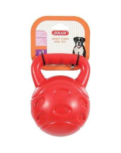 Zabawka TPR Bubble Piłka Z Uchwytem 15 cm Kol. Czerwony