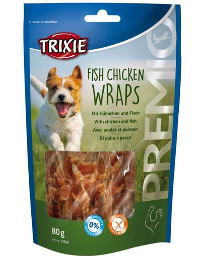 Snacki premio kurczak z rybą 80 g